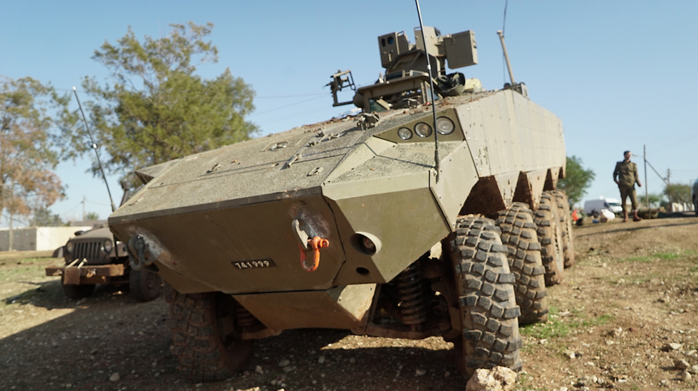 Idfs New Wheeled Apc Finishes First Round Of Operational