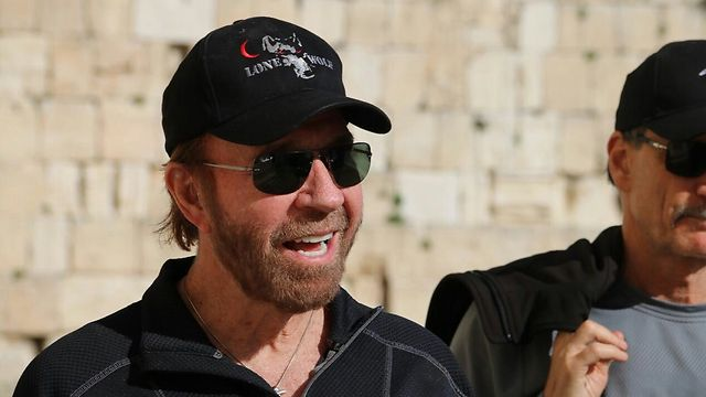 Chuck Norris Arrives In Israel Peace Seems Imminent