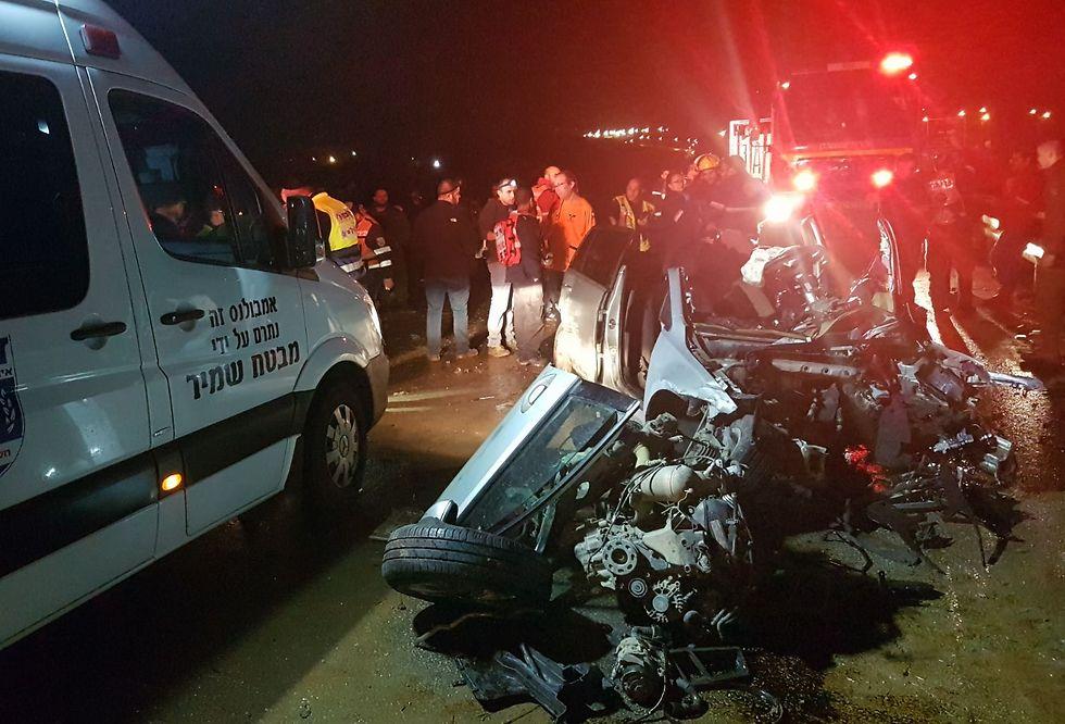 2 Israeli kids, 1 Palestinian killed in head-on collision