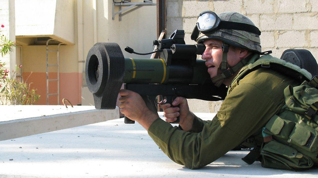IDF to roll out new rocket launcher for infantrymen