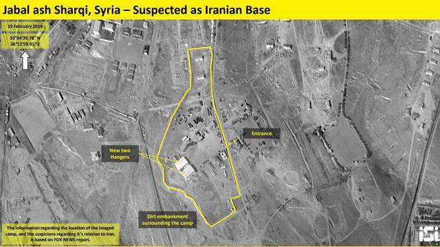 Report Iran establishes new military base in Syria