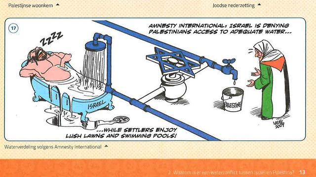 Anti Semitic Caricature Appears In Belgian Textbook