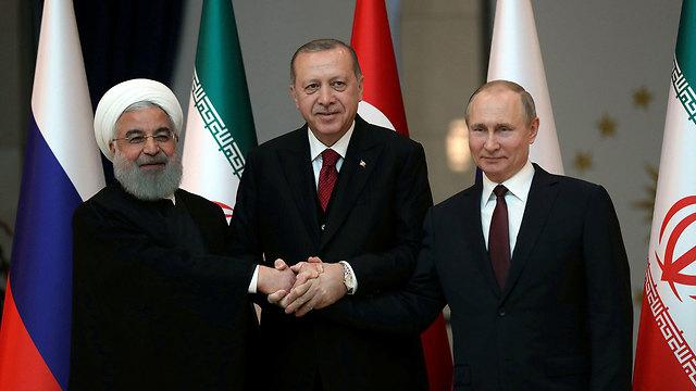 Image result for putin rouhani erdogan