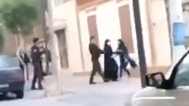 WATCH: Iranian modesty police drag woman into vehicle