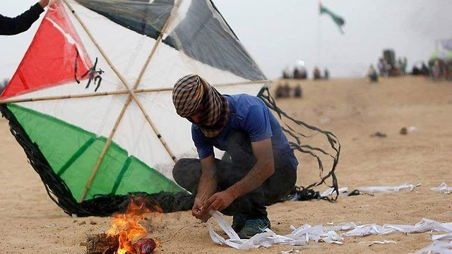 Senior official: 'Hamas has committed to halt the fire terrorism'