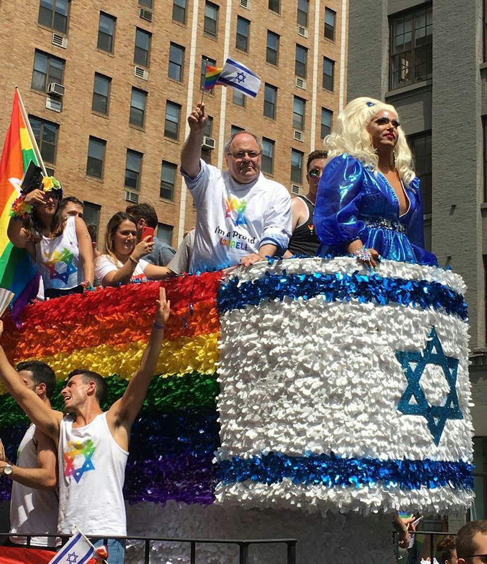 WATCH: Israeli Consulate truck at NYC LGBT Pride March