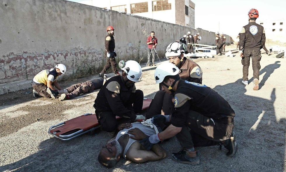 As some 'White Helmets' escaped Syria, most were left behind