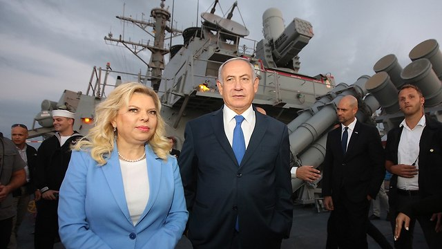 PM: US Navy in Ashdod is 'expression of American support'