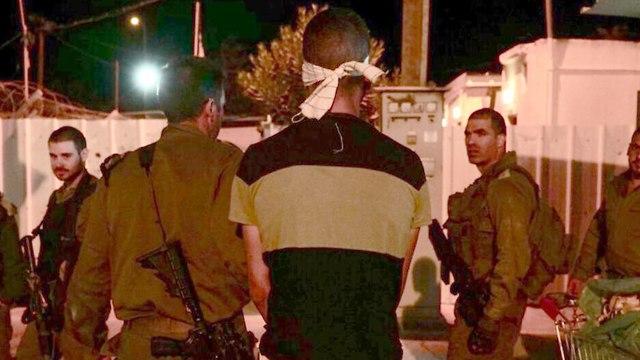 IDF captures terrorist who stabbed IDF reservist