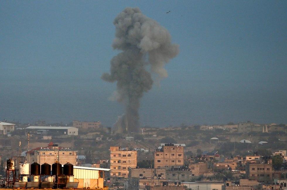 IDF attacks over 20 Gaza targets after rocket fire