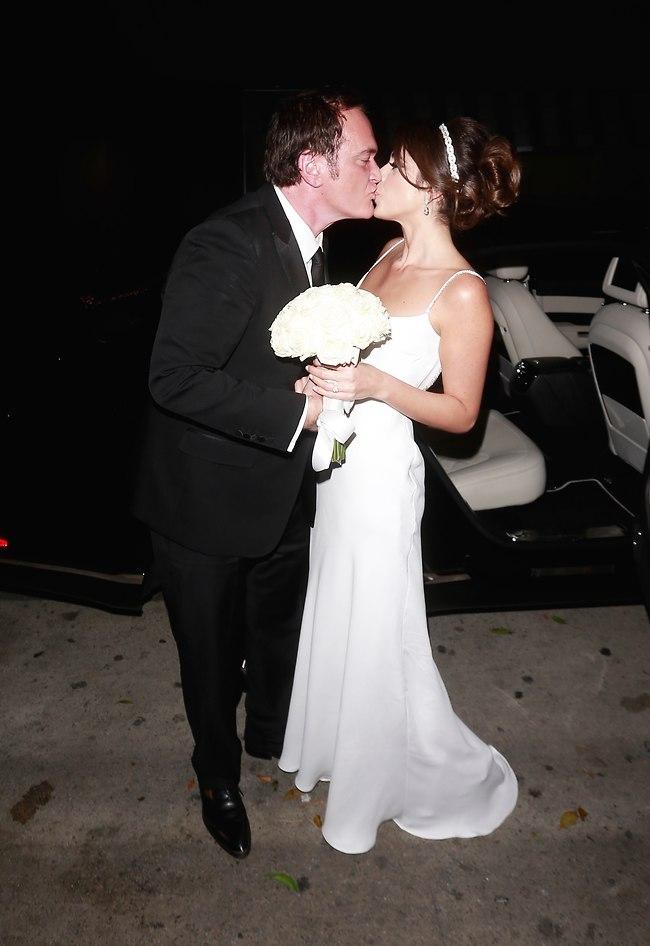 d2bb9399f8206 Quentin Tarantino and Daniella Pick at the wedding (Photo  Splash News)