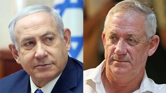 גנץ Facebook: Gantz On Par With Netanyahu In Latest Leadership Polls