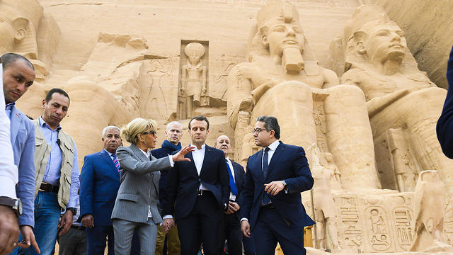 France S Macron To Press Egyptian President On Human Rights