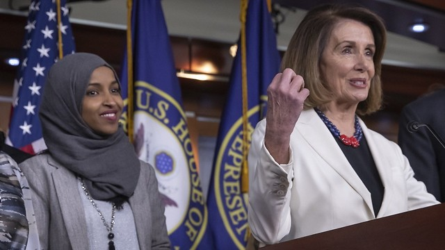 Image result for pelosi omar