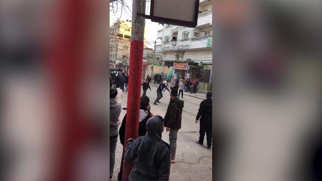 תושבי עזה במחאה נגד ארגון חמאס