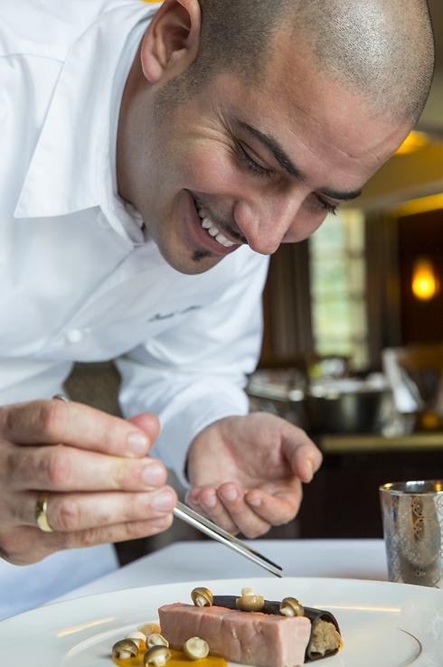 Давид Битон, шеф-повар отеля. Фото: Йорам Ашхаим