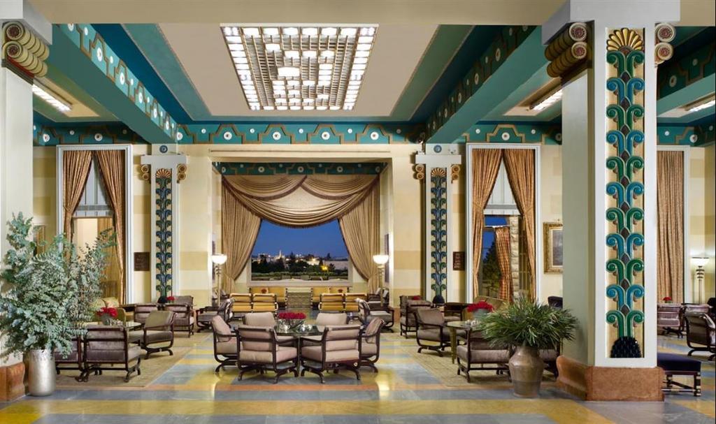 Фойе отеля King David Hotel. Фото: Ури Аккерман