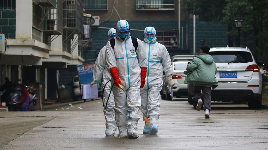Эпидемия коронавируса. Фото: AFP