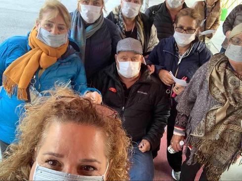 Израильтяне, ставшие заложниками эпидемии коронавируса на круизном лайнере
