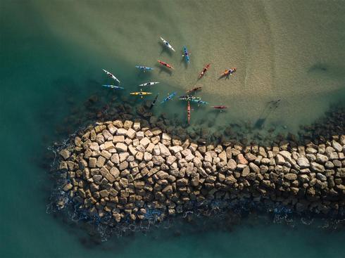 Пляж Аккадия, Герцлия. Фото: Идо Меирович