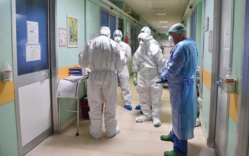 Итальянская больница. Фото: EPA