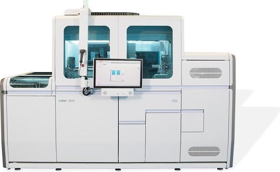 Суперприбор для производства 4000 анализов в сутке. Фото: Roche