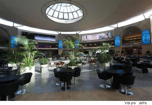 Аэропорт Бен-Гурион пока пуст. Фото: Сиван Фарадж, Управление аэропортов